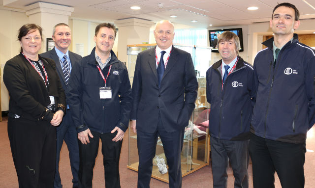 Directors of CSM meet the Work and Pension Secretary Mr Ian Duncan Smith MP