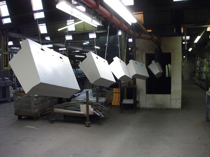 Powder coating, CSM Sheet Metal