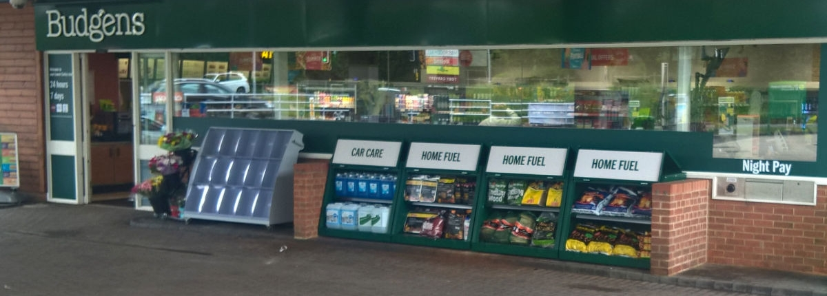 Garage Shop Forecourt Bunkers, manufactured by CSM sheet Metal, Chorley, Lancashire.